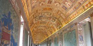 galerie des cartes au musée du vatican