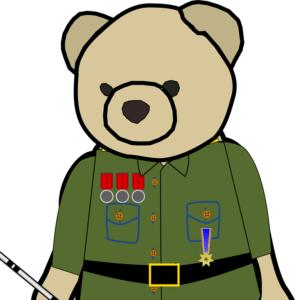 general ouille, mascotte du blog Ouille!