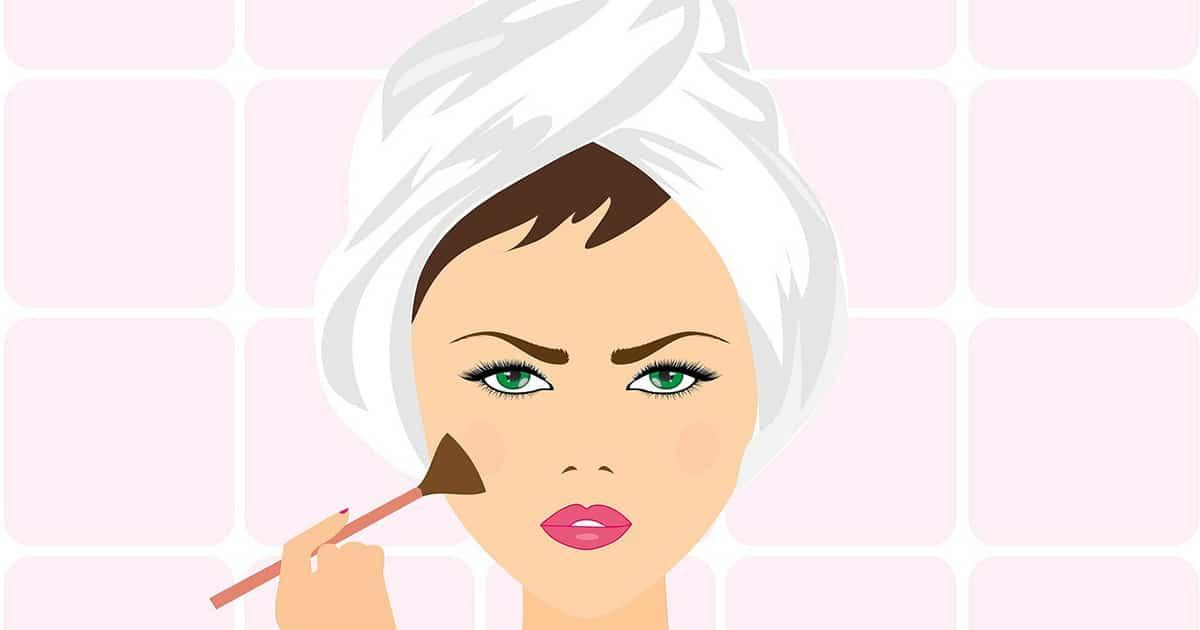 maquiller les joues pour etre belle