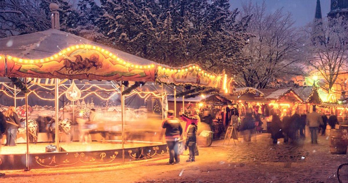Bruges de Noël le marché de noël