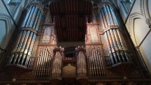 magnigfique orgue cathedrale rochester