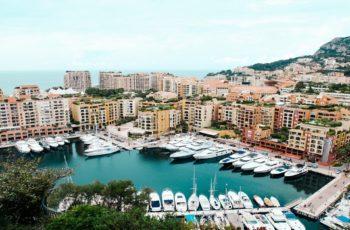 Port fontvieille à Monaco Monte Carlo