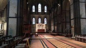 vue du choeur de la cathedrale
