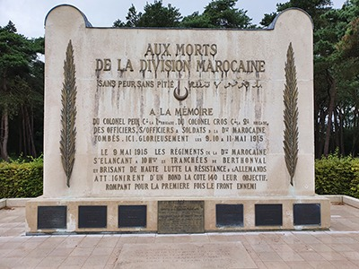 memorial marocain vimy