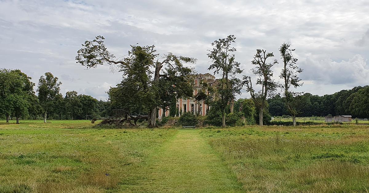 ruines du chateau de la ferte vidame
