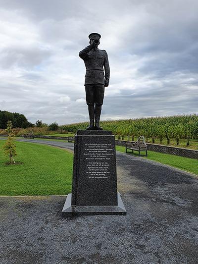 statue de soldat